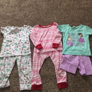 3 Carters pajamas
